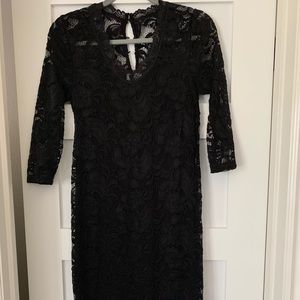 Maternity Lace Dress from ASOS, size small